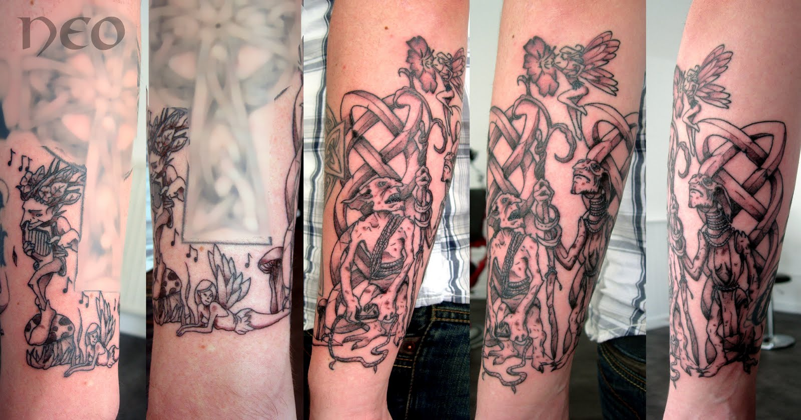 Idées de tatouages celtiques et indo européens - Tatouage Celtique Avant Bras