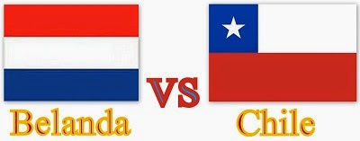 Hasil Skor Pertandingan Belanda Vs Chile
