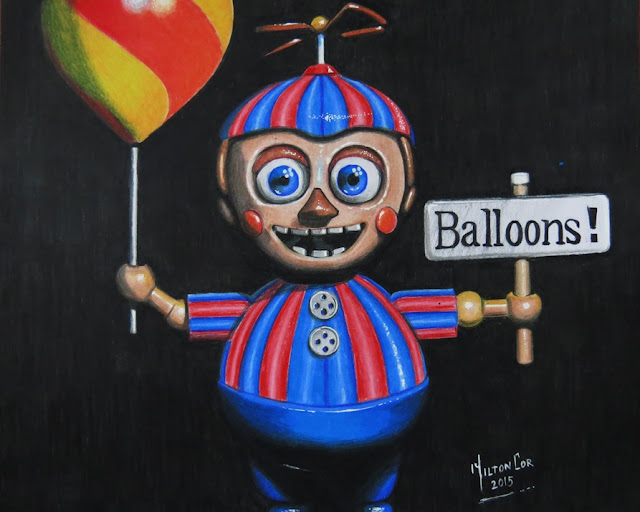 Art painting drawing tips and tutorials drawing balloon boy from