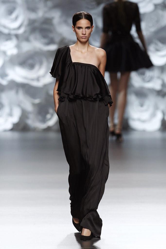 Fashion runway juana mart n madrid fashion week p v - Madrid chic style ...
