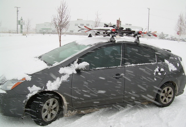 I Planned On Permanently Mounting The Yakima Control Tower Roof Rack.