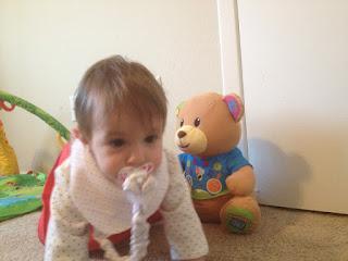 chupetero y bababú bandana para bebé