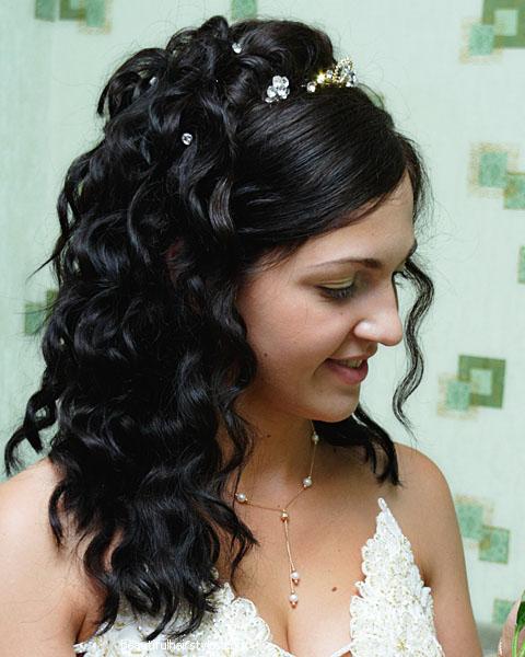 Indian wedding reception hairstyles |Shaadi