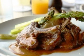 Lamb Chops and Asparagus