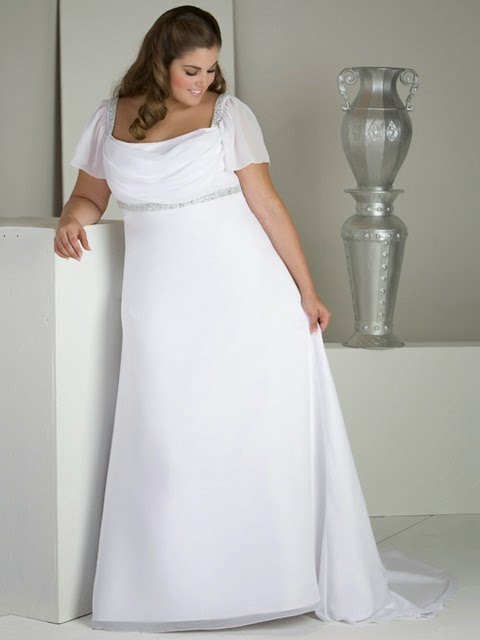 Vestidos de novia para mujeres obesas