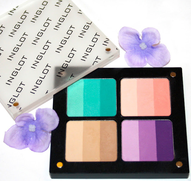 inglot eye shadow patelle