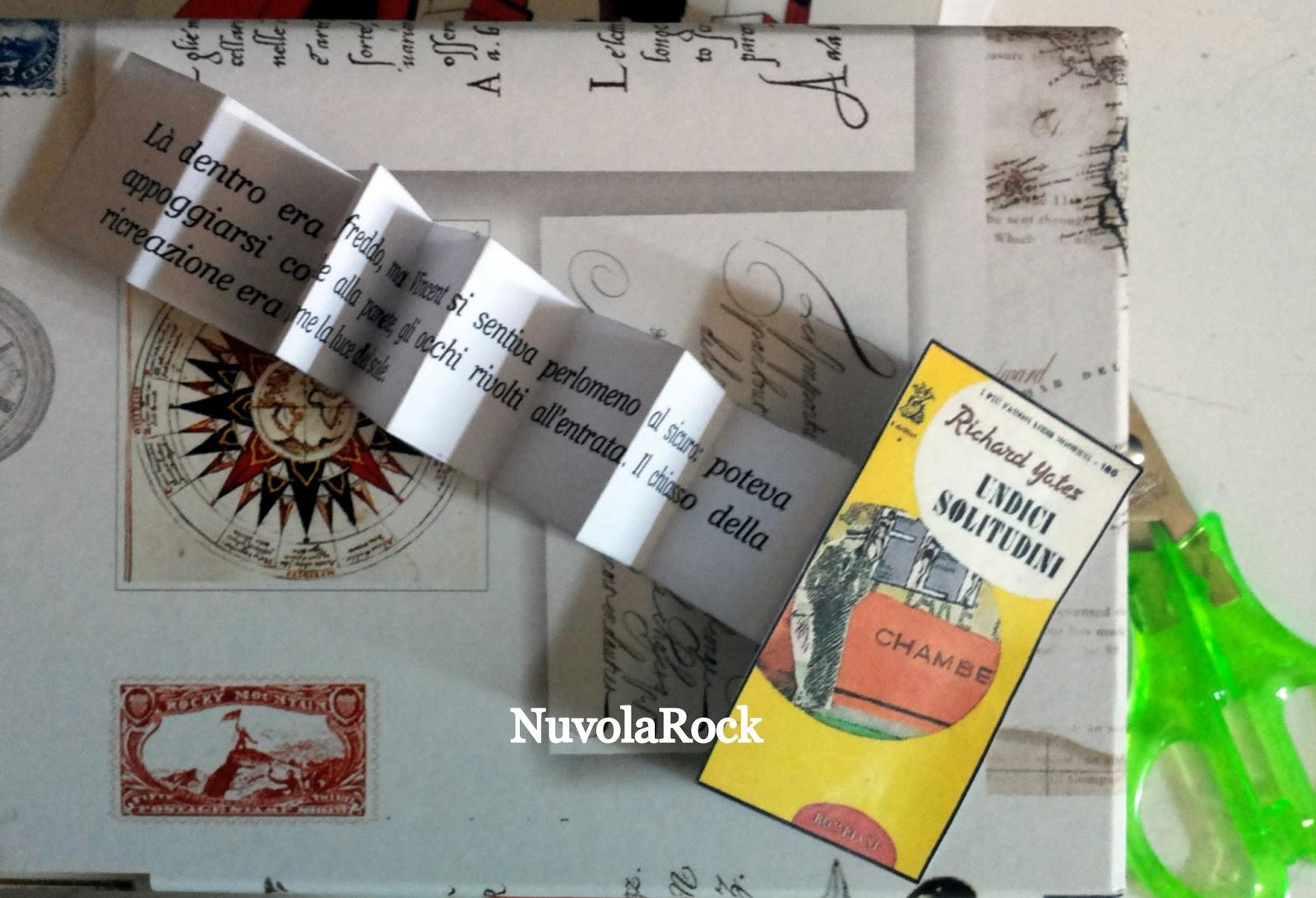 Très Nuvola Rock: Segnalibro fai-da-te personalizzato #copertine  OZ16