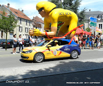 LE TOUR DE FRANCE A CHAUMONT