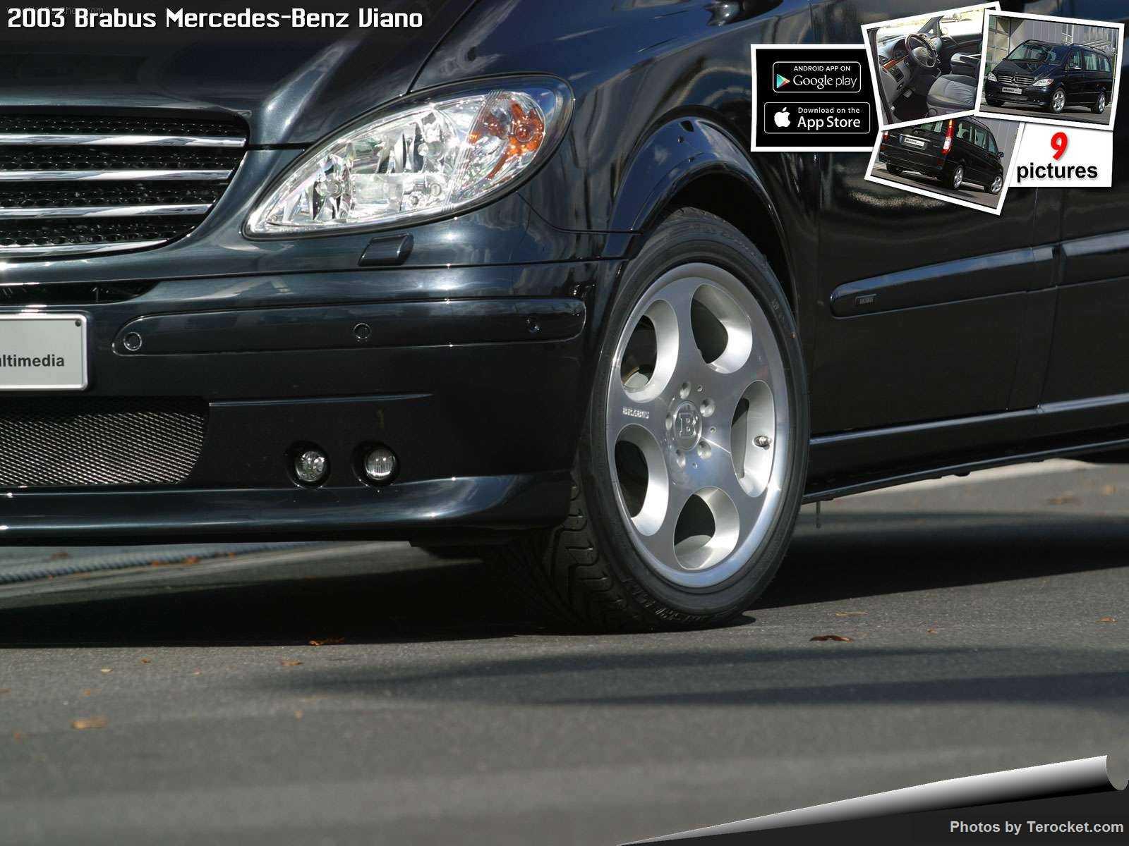 Hình ảnh xe ô tô Brabus Mercedes-Benz Viano 2003 & nội ngoại thất
