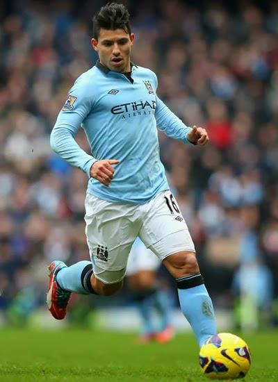 Sergio Aguero Manchester City 20132014