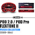 LINE 6 POD 2.0, POD PRO, Flextone II PATCH COLLECTION