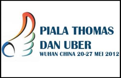 Malaysia Tamatkan Kempen Piala Thomas 2012