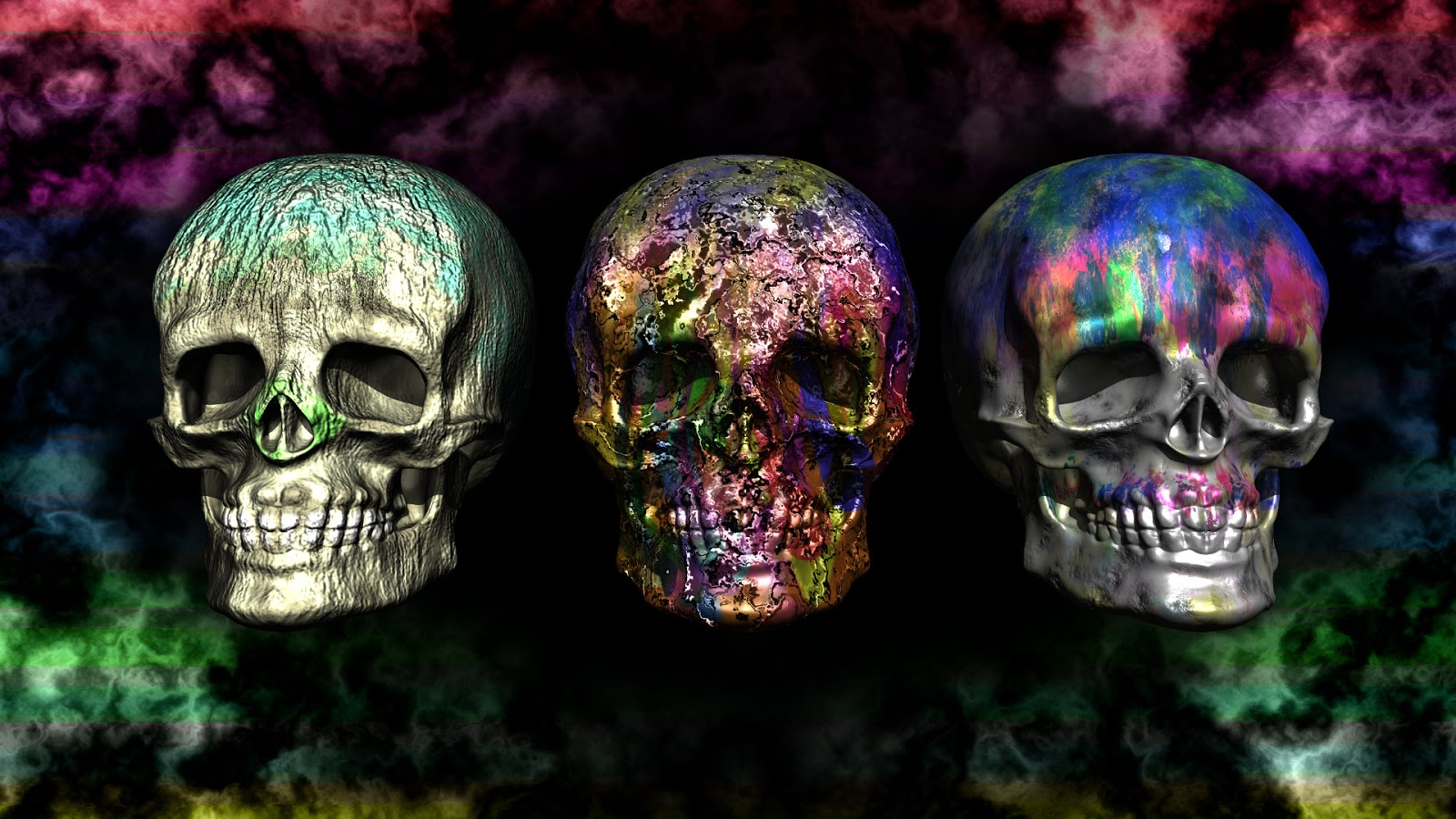 Sfondi Per Desktop Teschi Wallpapers Skull Digitalmatt Blog