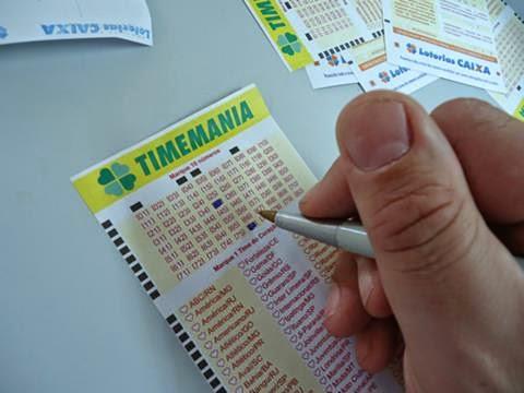 Apostador baiano leva mais de R$ 22 milhões na Timemania.