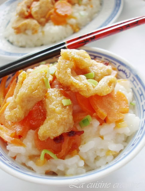 Pržena piletina na kineski način