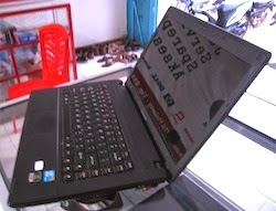 jual laptop gaming 2nd lenovo g460