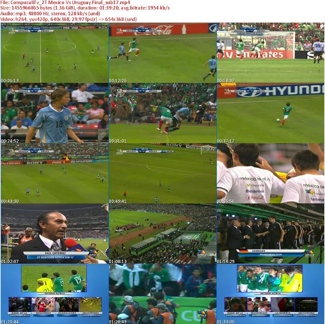 Mexico Vs Uruguay [Final Mundial Sub 17] México 2011 [Español Latino]