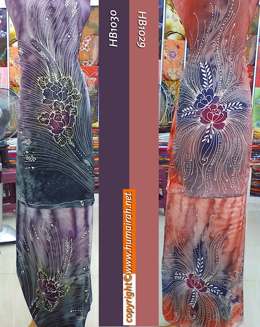 BATIK SUTERA ABSTRACT MOTIF MERAK — humairah
