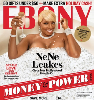 Nene Leaks on Ebony Magazine Cover