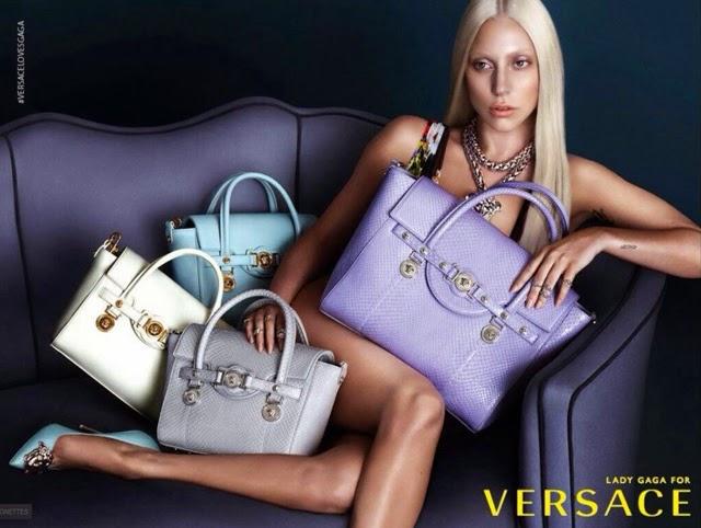 Lady Gaga sans make up : les photos de son shooting pour Versace