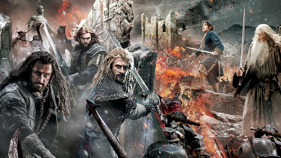 Review Film  The Hobbit: The  Battle  of Five Armies