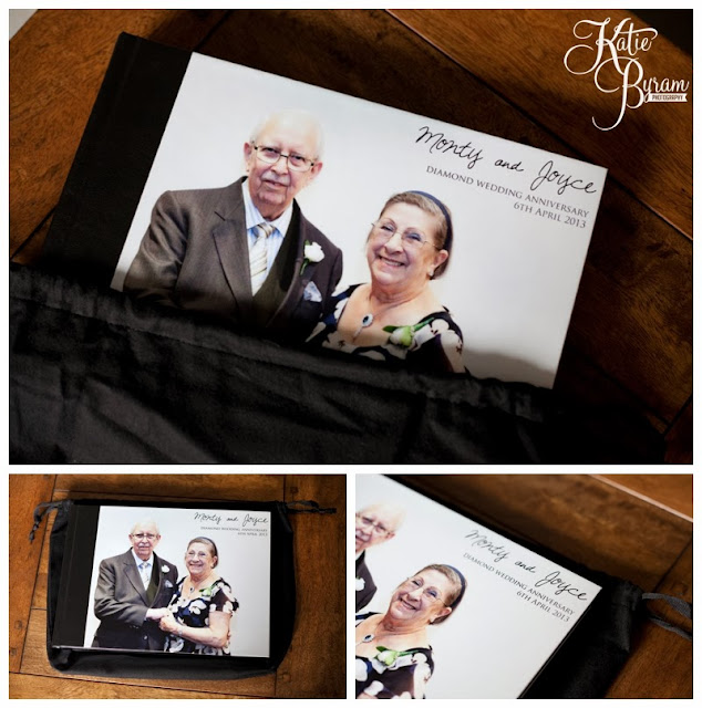 storybook wedding album, sim imaging, diamond wedding anniversary, katie byram photography
