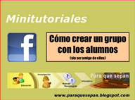 ¿Facebook con los alumnos/as?