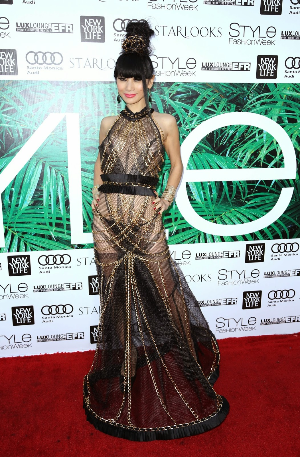 Actress @ Bai Ling - at the Los Angeles Style Fashion Week's