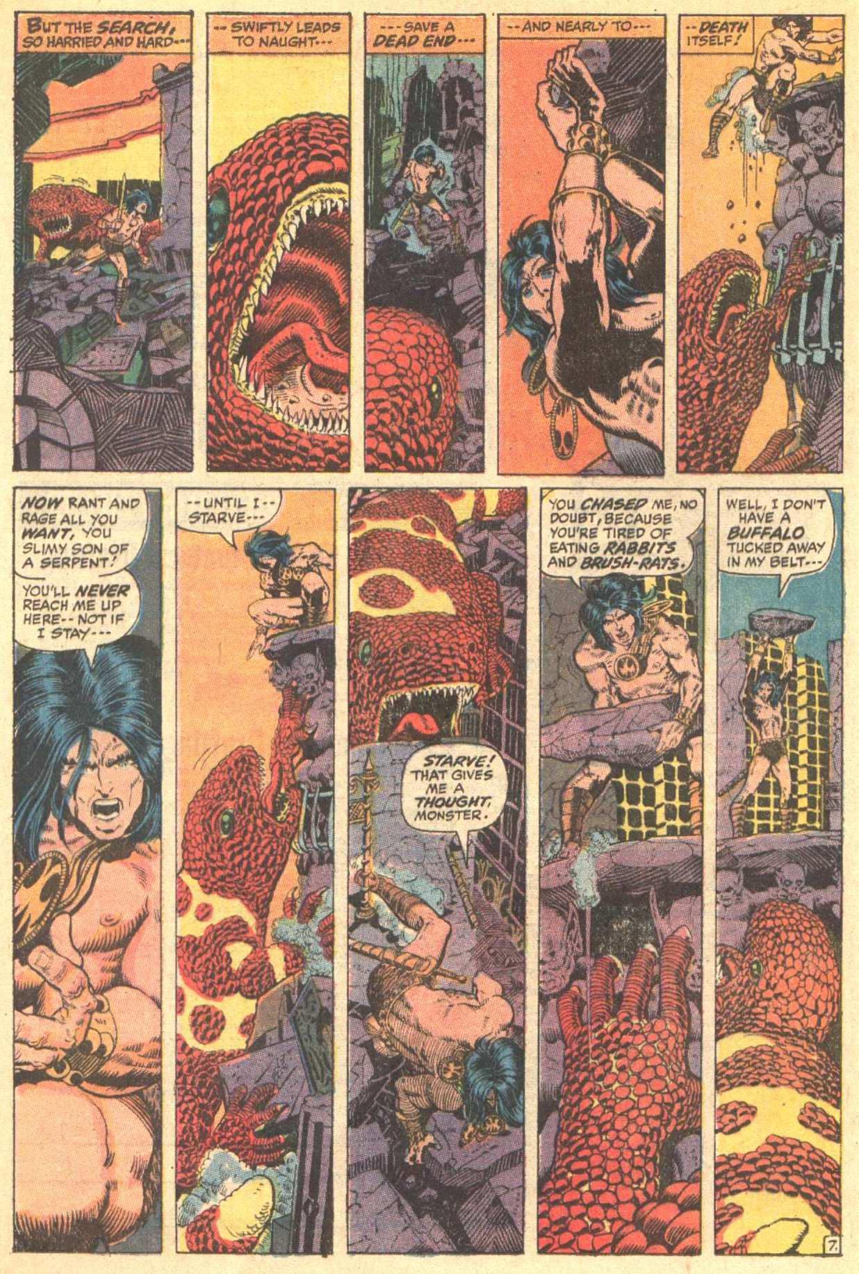 Conan the Barbarian (1970) Issue #8 #20 - English 8