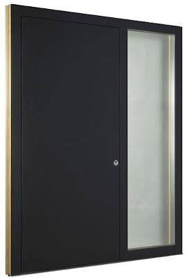 Drzwi wejściowe HT410 Internorm z naświetlem