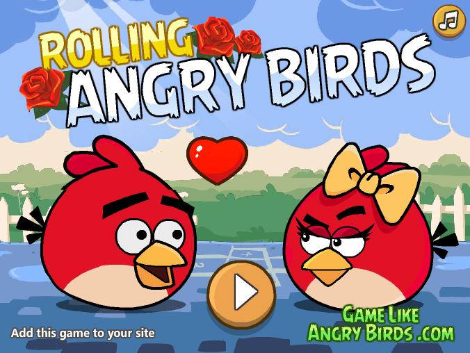 لعبة رولينج الطيور الغاضبة