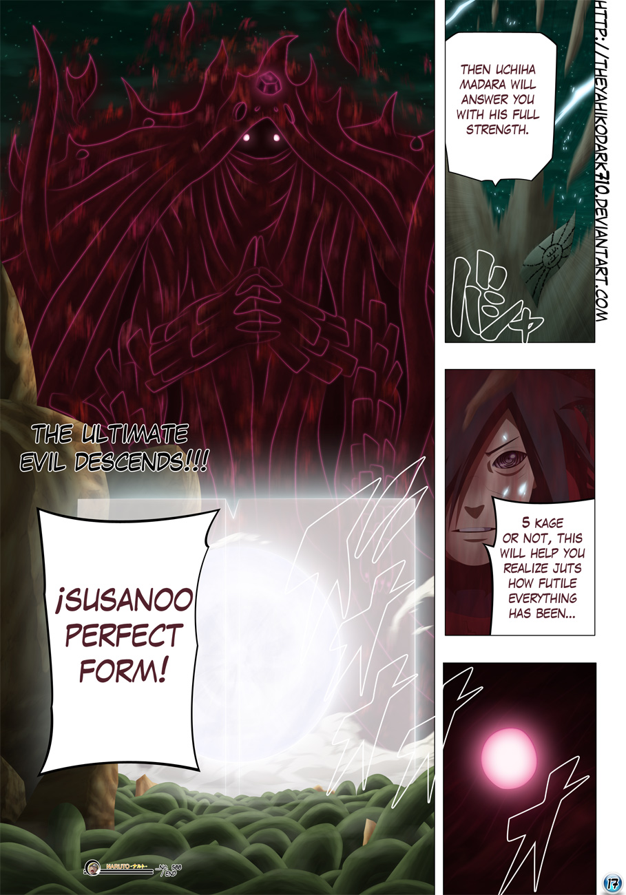Naruto chap 592 Trang 18 - Mangak.info