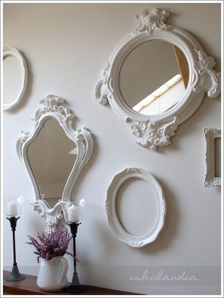 Decora o proven al jeito de casa blog de decora o e for Molduras para decorar puertas