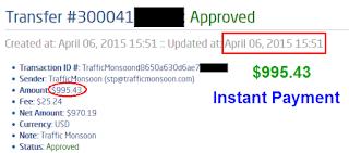 bukti pembayaran trafficmonsoon ketiga