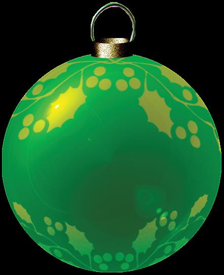 esfera navideña fondo transparente
