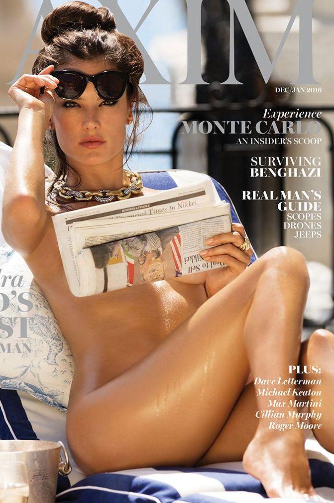 Alessandra Ambrosio desnuda en Maxim Magazine