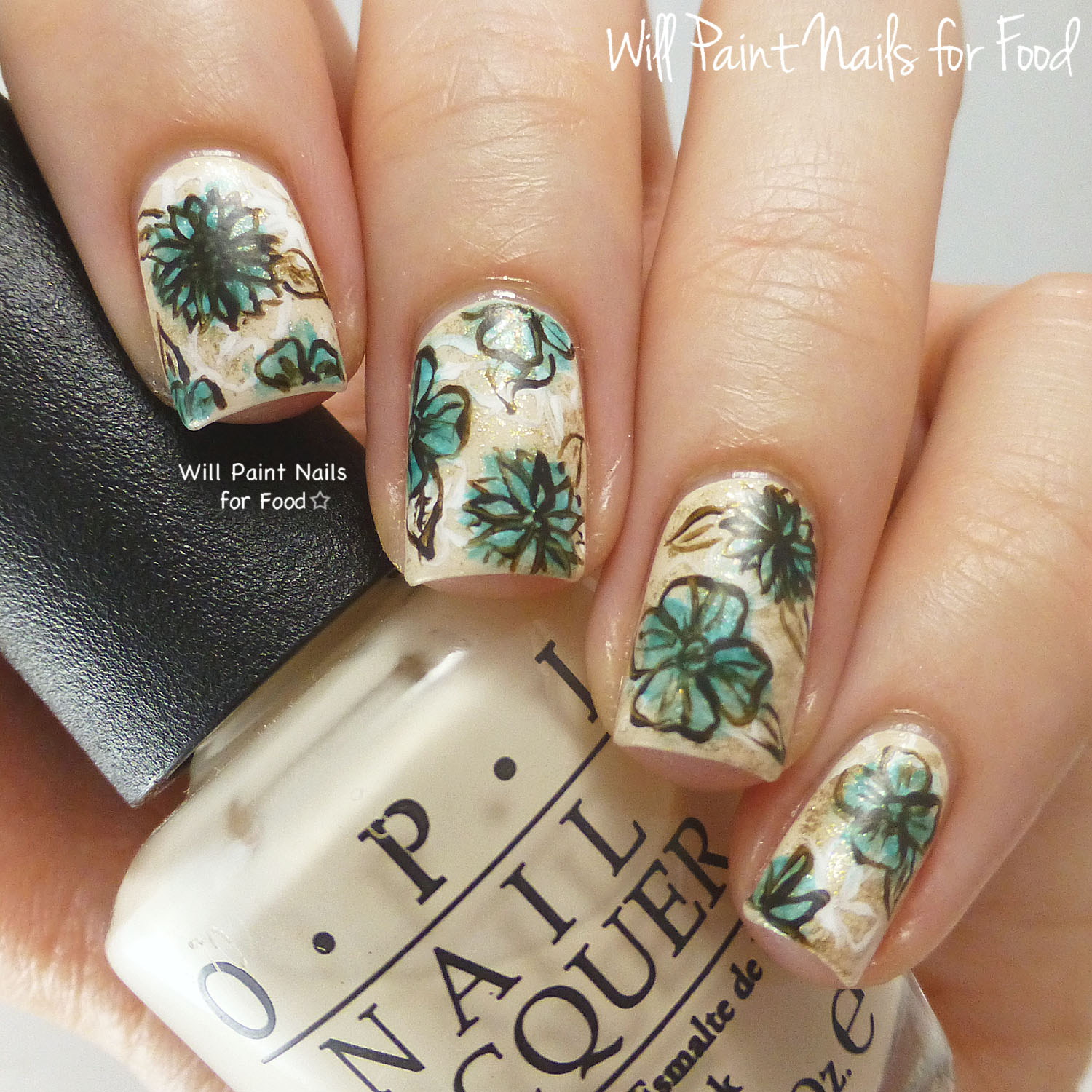 Vintage flower nail art gallery nail art and nail design ideas vintage flower nail art choice image nail art and nail design ideas vintage flower nail art prinsesfo Image collections