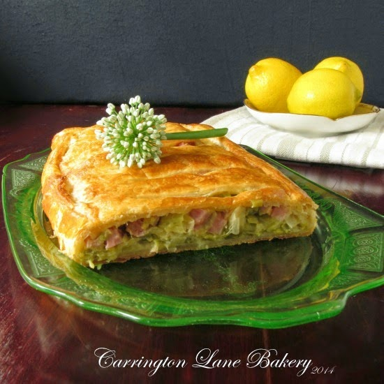 Carrington Lane Bakery: Ham and Leek Tart