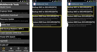 Cara Backup dan Restore Imei Android Terbaru dan Tanpa PC