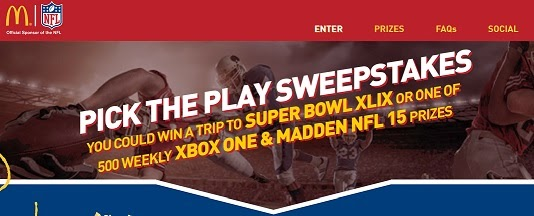 Win a Trip to the Super Bowl