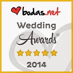 Empresa Ganadora Wedding Awards 2014