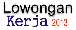 Lowongan Kerja Bandar Lampung Juni 2013