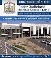 Apostila Tribunal de Justiça de (MT) 2015 Todos os Cargos Mato Grosso (TJ-MT).