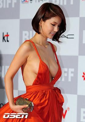 plenty of boobs job   korean actress oh in hye   wow