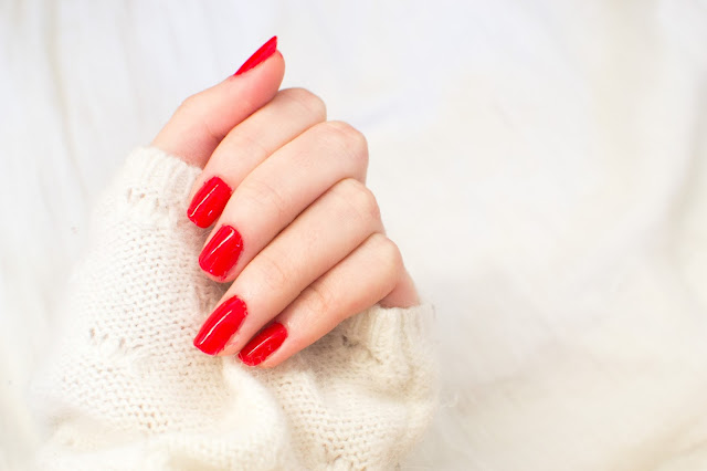 Barry M red nail polish