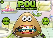 juegos de Pou Tooth Problems