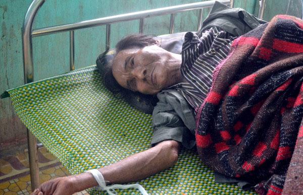 Ho Van Thanh kini dirawat di sebuah hospital.