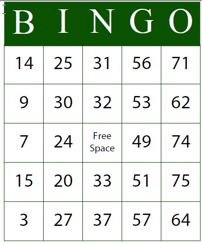 Esl Librarian Free Bingo Card Generator Programs That Work Well For