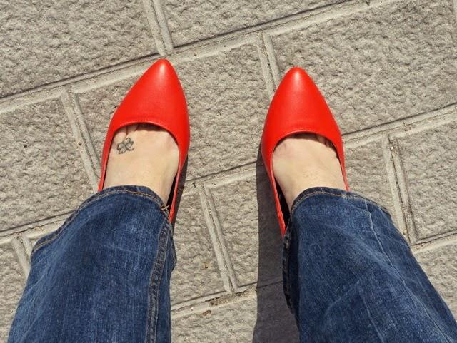 stilettos rojo