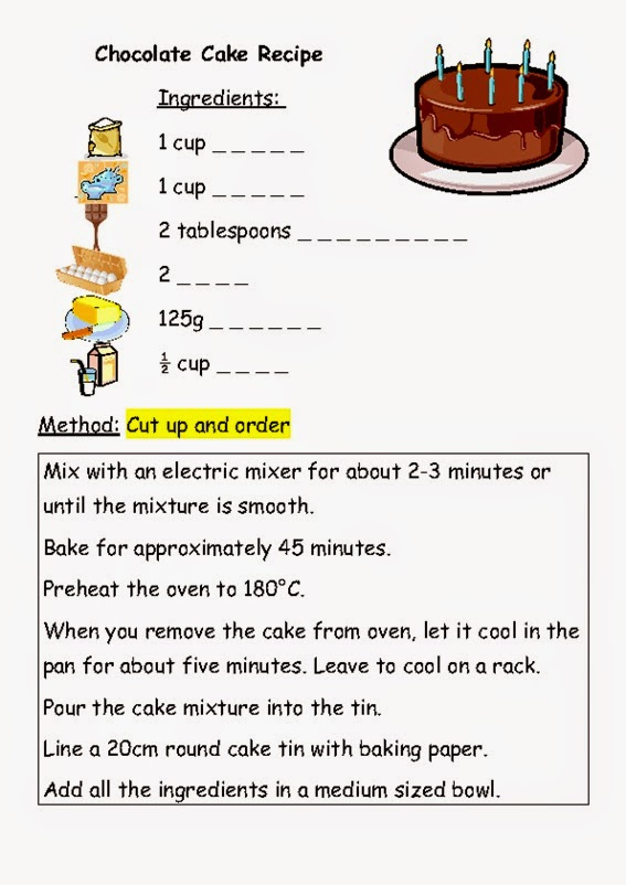 Thunder Cake Text